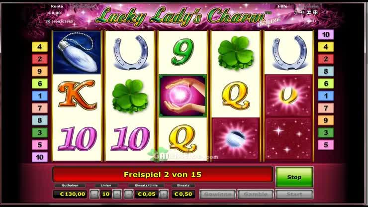 Casino Spiel Lucky Lady Charm